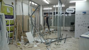 Bourací práce v Žilině
