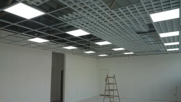 Alza sk OC MAX Trenčín- montáž LED panelů